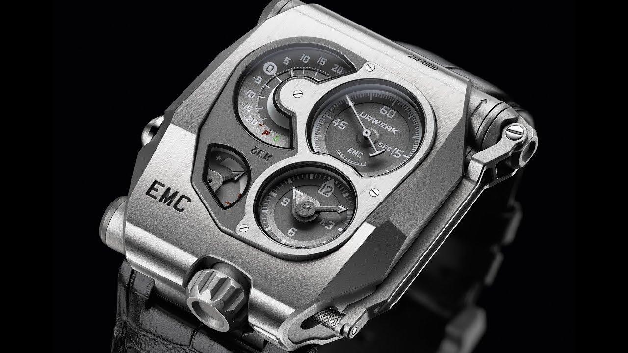@URWERK_GENEVE : EMC Black Edition •• PREMIÈRE GREFFE DE CERVEAU ÉLECTRONIQUE SUR UNE MÉCANIQUE