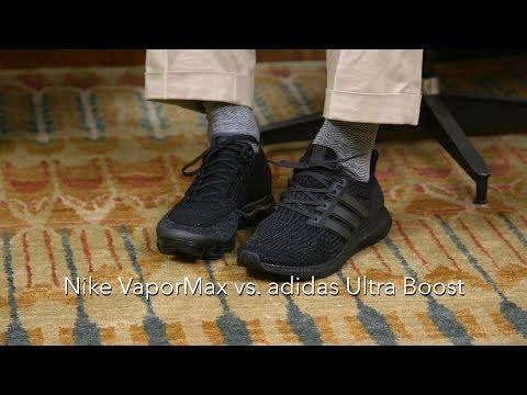 adidas Ultra Boost vs. Nike VaporMax