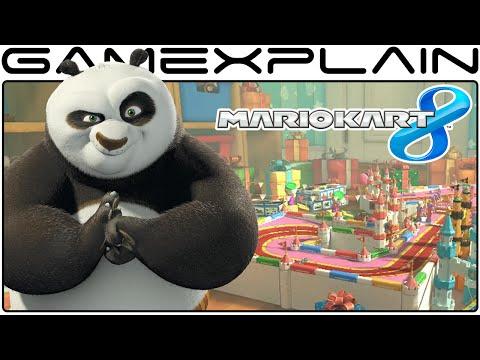 Kung Fu Panda Secret in Mario Kart 8 (Kung Fu Lakitu)