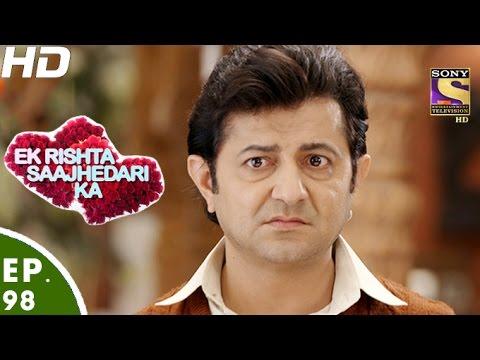 Ek Rishta Sajhedari ka - एक रिश्ता साझेदारी का - Episode 98 - 23rd December, 2016