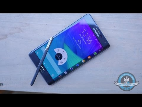 Samsung Galaxy Note Edge - Unboxing and Hands On