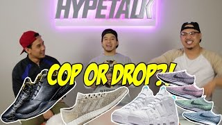 HYPETALK: UPCOMING SUMMER SNEAKER RELEASES! COP OR DROP?!