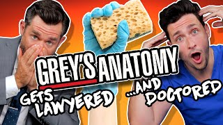Lawyer & Doctor React to Grey's Anatomy Malpractice ft. Doctor Mike