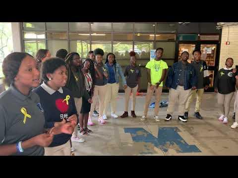 McKinley Senior High School's Choir, Suicide Prevention Week 2019
