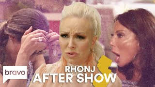 Danielle Staub Breaks The Golden Rule & Gets Wine Thrown At Her | RHONJ After Show (S9 Ep13)