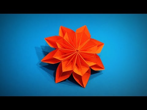 Origami Flower | How to Make a Paper Flower Kusudama DIY | Easy Origami ART | Paper Crafts