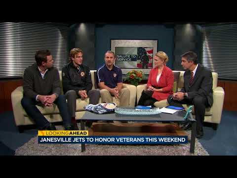 Janesville Jets host Salute to Service on the ice