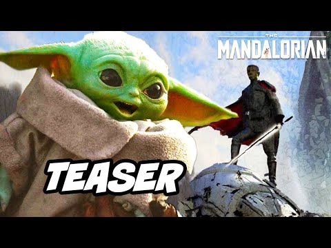 Star Wars The Mandalorian Season 2 Teaser - Baby Yoda Ending Scene Breakdown