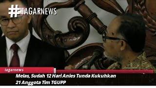 Melas, Sudah 12 Hari Anies Tunda Kukuhkan 21 Anggota Tim TGUPP