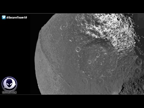STRANGE Moon Of Saturn An Artificial Alien Construct? 5/7/16