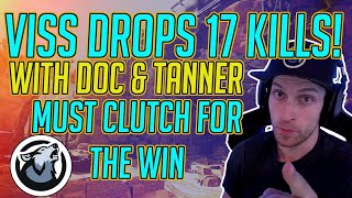 Viss Drops 17 Kills Must Clutch For The Win! w/ Dr Disrespect and TannerSlays Apex Legends