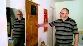 Repeat youtube video Egy kandallóval hat helyiséget fűt Bakos György kályhás kandallója