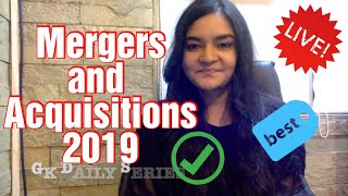 GK Daily - Mergers and Acquisitions 2019