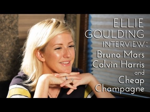 Ellie Goulding Talks Bruno Mars, Calvin Harris And Cheap Champagne