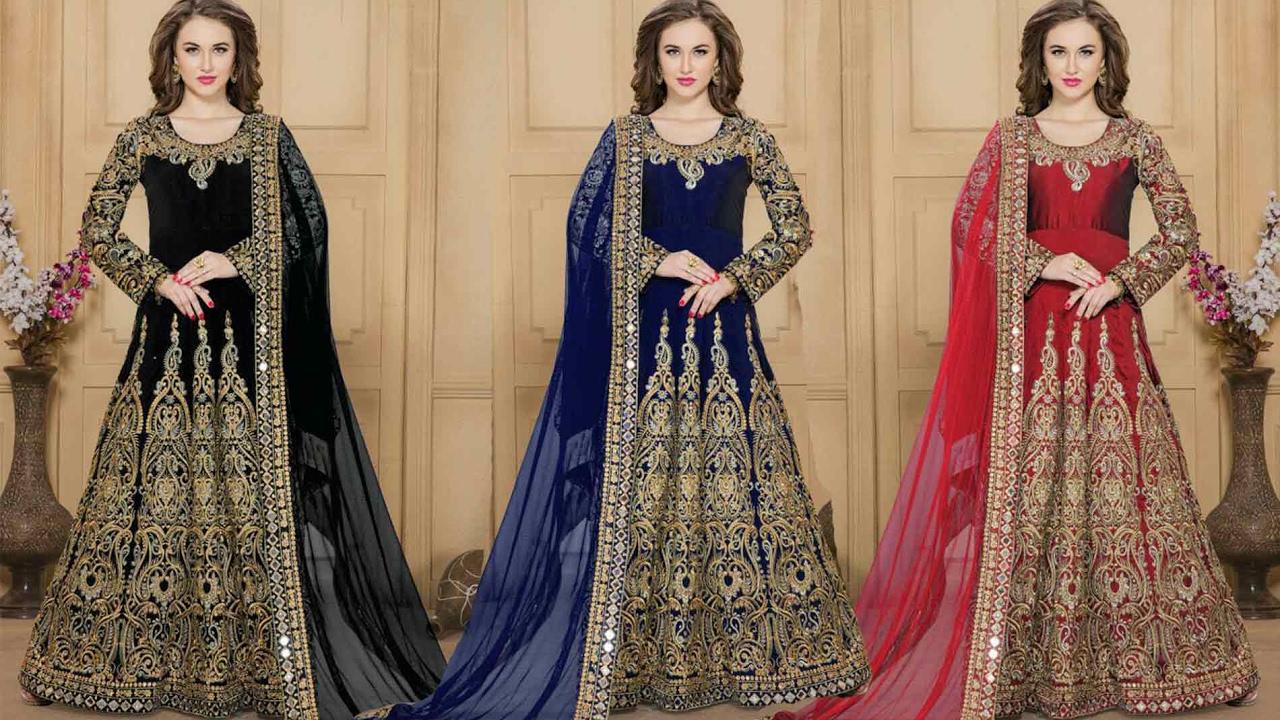 Party Wear Anarkali Suits Designs