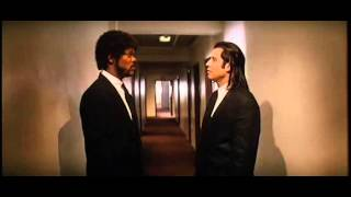 mise en scene pulp fiction