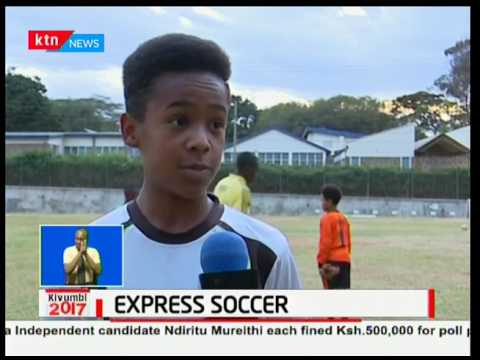 Express Soccer Academy promotes soccer talent in Kenya