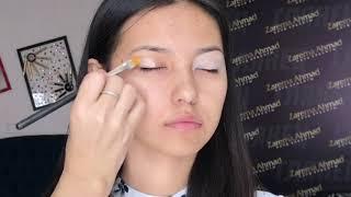 Урок макияжа. Макияж для азиатских глаз