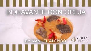 Bogavante con oreja de cerdo Arturo Sánchez by Manuel Alonso