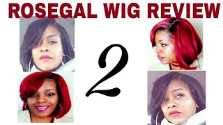 ROSEGAL WIG REVIEW | RED OR BLACK HAIR DON