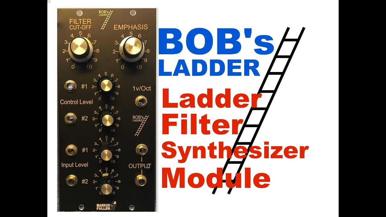 BOB's LADDER based on moogs ladder filter built on simple perf board