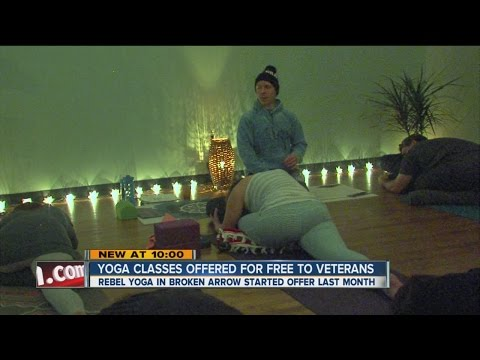 Yoga Classes Offered For Free TO Veterans