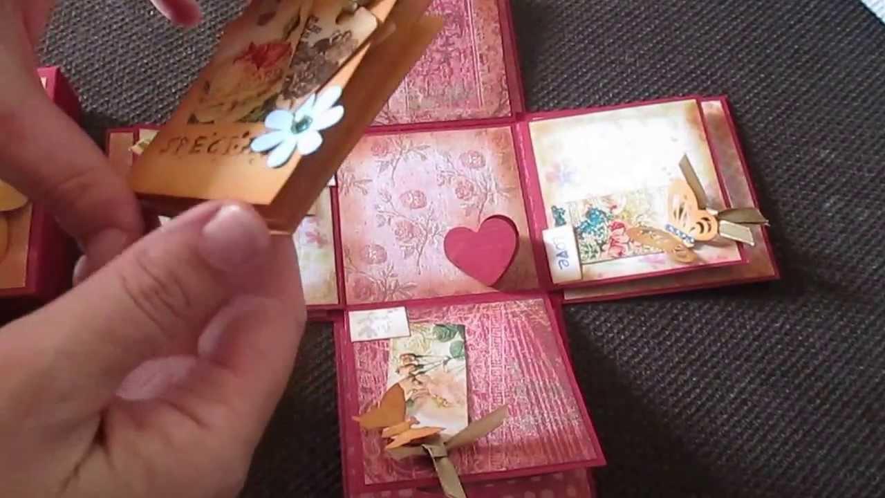 Cutiuta Magica Cu Flori Si Fluturi Youtube