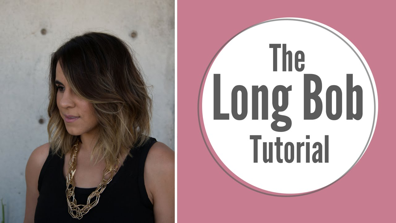 Summer Lob Haircut Tutorial YouTube