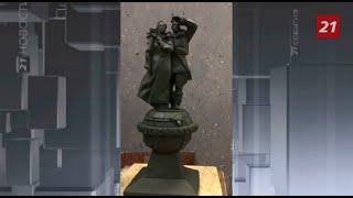 Художники рассказали, как работали над памятником Сане и Кате
