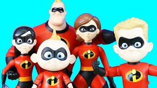 Incredibles 2 Talking Interactive Toys Complete Family Pretend Play Toys Just4fun290