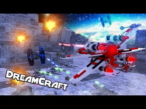 Star Wars Movie - Outer Space War: Jedi Vs Sith! (Minecraft Dream Craft) #9