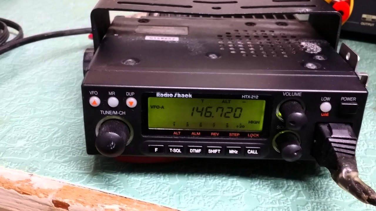 Radio Shack Htx 212 Youtube