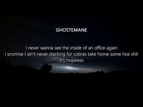 LiL PEEP x GHOSTEMANE - Sleepy Hollow (Lyrics)
