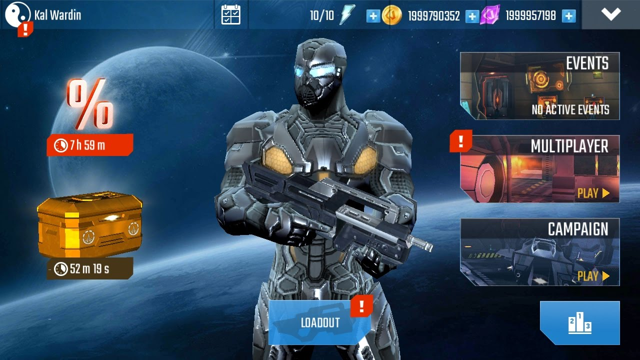 N O V A Legacy Unlimited Money Free Coins Trilithium Download