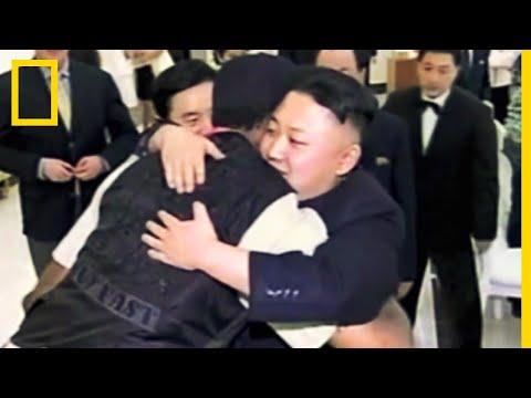 Quand Kim-Jong Un rencontrait un célèbre basketteur américain