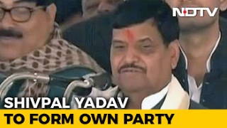 UP Elections 2017: Sidelined By Akhilesh Yadav, Uncle Shivpal Plans New Party