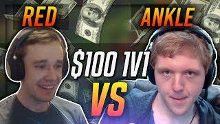 redmercy vs anklespankin   100 1v1 showdown league of legends