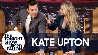 Kate Upton Gives Jimmy a Strong4Me Fitness Training Session