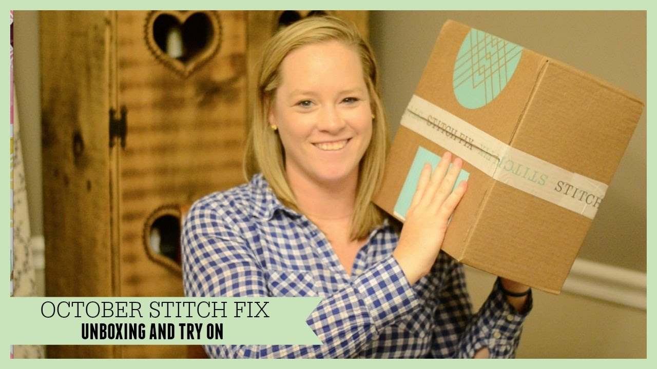 984e66af023 October Stitch Fix Unboxing and Try On - YouTube