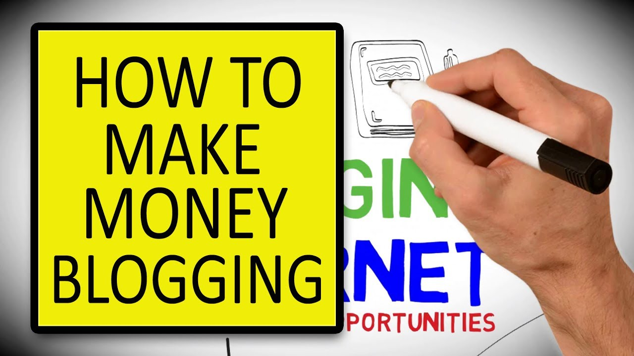 How To Make Money With Blogging  Best Way To Make Money