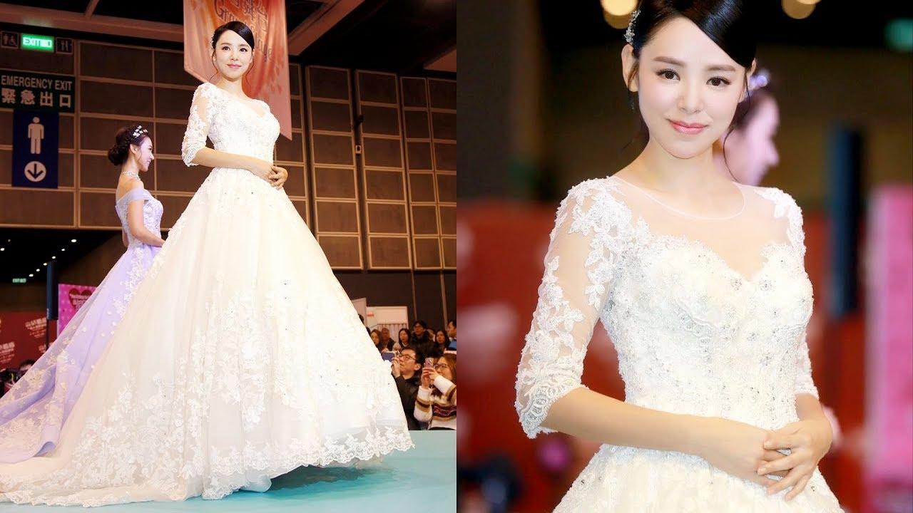 譚凱琪 Zoie Tam-香港藏愛婚紗 @香港結婚節暨婚紗展