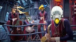 Overwatch We are Number One but Zenyatta tries teaching Pharah Hanzo and Genji to take the objective
