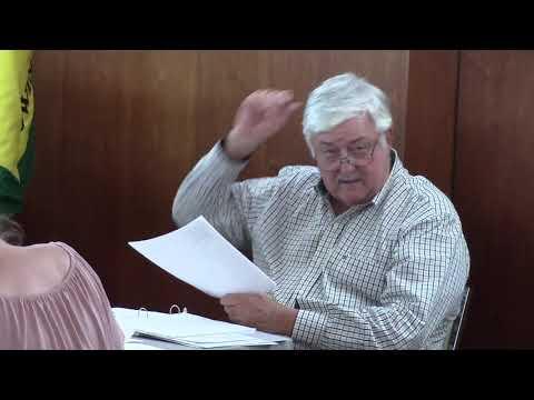 5. A. Budget 20-21 presentation --John Flythe, City Manager