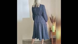 Платье в цветочек с алиекспресс aliexpress dress платье fashion style shopping dabourfeel