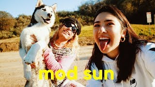 MOD SUN Interview- love for Bella Thorne, paying to disappear, blackbear, writing his book, G-Eazy