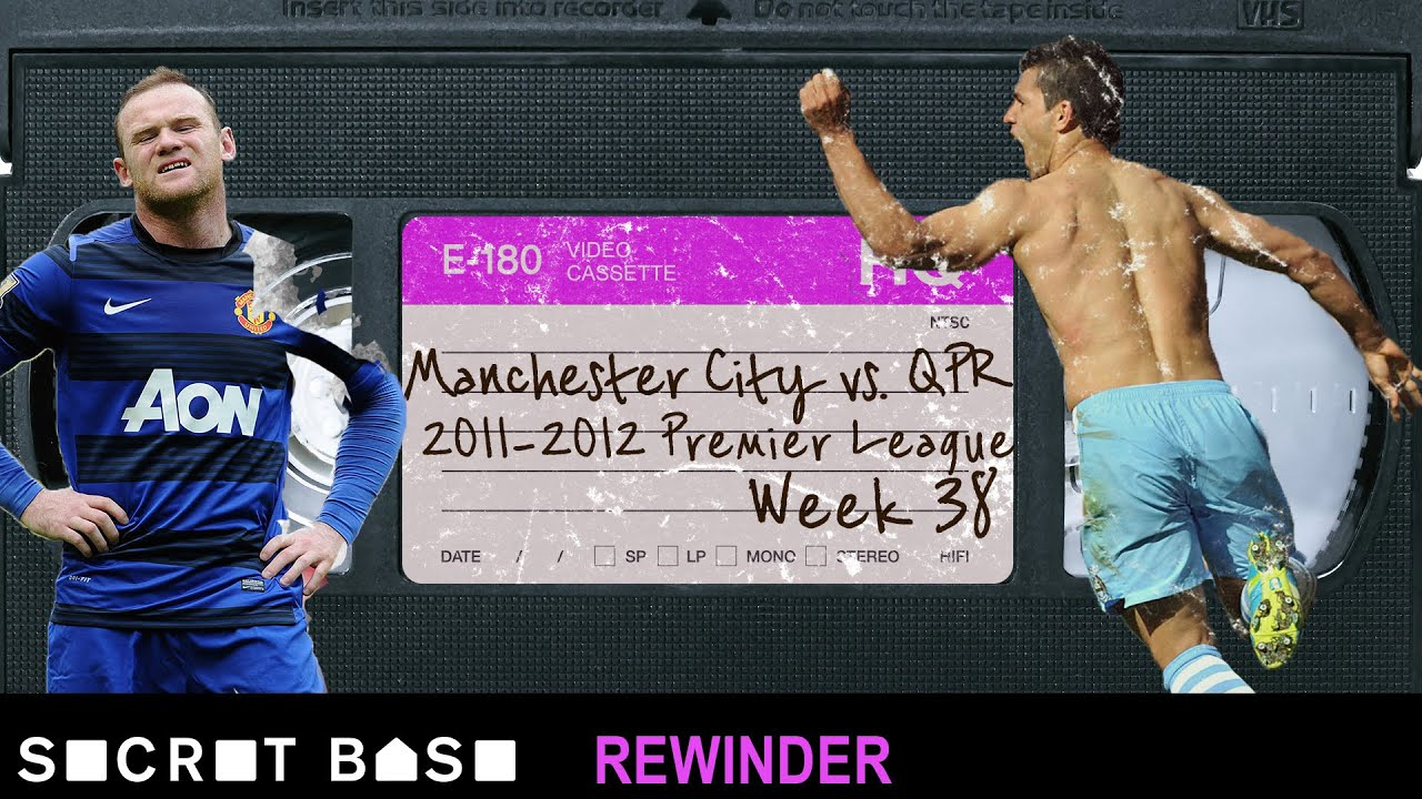 The greatest Premier League finish ever deserves a deep rewind | 2012 Manchester City vs. QPR