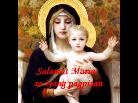 Salamat Maria sung by Basil Valdez