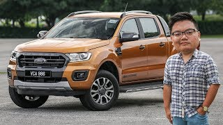 FIRST LOOK: 2019 Ford Ranger facelift in Malaysia - RM91k-RM145k