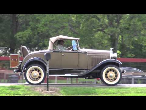 1931 Ford Model A Deluxe Rumbleseat Roadster 4K Ultra HD vintage car driving experience