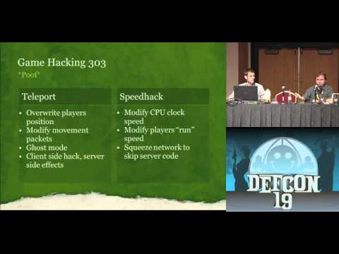 DEFCON 19: Hacking MMORPGs for Fun and Mostly Profit ( w spe